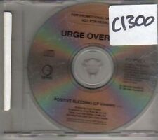 (CL641) Urge Overkill, Positive Bleeding - 1993 DJ CD