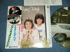 PAT McGLYNN (BAY CITY ROLLERS)Japan 1979 Picture Disc NM LP+Obi FLYING HIGH