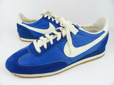 Vtg Nike 10.5 Original 1980s 70s 80s Blue White Roadrunner Oceania UNWORN READ