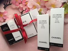 CHANEL CC CREAM COMPLETE CORRECTION SPF50 BEIGE 20 X2 AND GIFTS SET