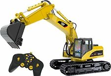 Top Race TR-211 15 Channel Professional RC Excavator Heavy Duty Metal Toy wit...