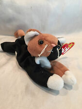 COLLECIBLE 1996 TY BEANIE BABY CHIP THE CAT WITH TYPO ON TAG (Jenuary) RARE
