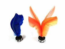 Kikbo Jianzi Kick Shuttlecock Feathered Hacky Sack 2 Pack Indoor/Outdoor