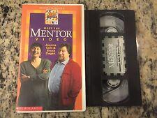 MEET THE MENTOR VIDEO JOANNA COLE & BRUCE DEGEN VHS NOT ON DVD KIDS EDUCATIONAL