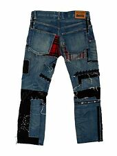CRAZY COOL, SOLD OUT $1,165 DISTRESSED PATCHWORK JUNYA WATANABE JEANS (NWT)