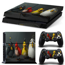 PS4 Skin & Controllers Skin Vinyl Sticker For PlayStation 4 Angry Birds Real