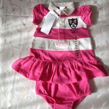Ralph LAUREN Bebé Niña Vestido Polo De Rugby De Manga Corta (3-6 meses) PVP: £ 70.0