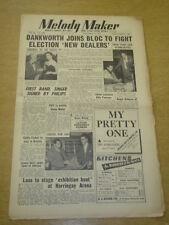 MELODY MAKER 1952 DECEMBER 6 JOHNNY DANWORTH EDDIE FISHER GLENN MILLER +