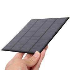 3W 12V Grade Polycrystalline Silicon 0-250ma Solar Energy Panel Black