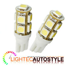 2 x 9 SMD LED XENON PURE WHITE LED 501 T10 W5W INTERIOR LIGHT SIDELIGHT BULBS