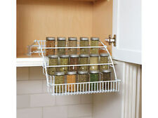 RUBBERMAID 8020-RD PULL DOWN SPICE RACK HOLDER NEW