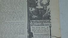 1911 REMINGTON AUTOLOADING RIFLE AND AVERY PLANTER AND OTHER ADVERTISING