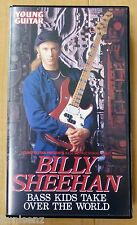 BILLY SHEEHAN BASS KIDS TAKE OVER THE WORLD 1996 Japan VHS YOUNG GUITAR PRESENTS