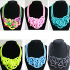 Hot Sell Women Fashion Mixed Style Bib Chunky Choker Statement Necklace Pendant