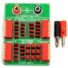 1nF to 9999nF Step-1nF Four Decade Programmable Capacitor Board.