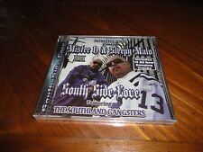 Chicano Rap CD Mister D & Sleepy Malo - South Side Love - COA Click Lil Sicko
