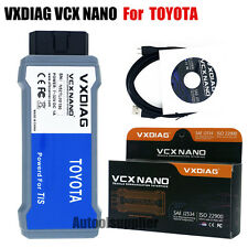 VXDIAG VCX NANO for TOYOTA TIS Techstream V10.10.018 Compatible SAE J2534