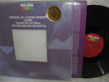 EMANUEL AX EUGENE ORMANDY TELDEC RED SEAL DIGITAL LP ATC1-4097 CHOPIN CONCERTO