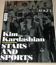 L'UOMO VOGUE MAGAZINE=2012/432=KIM KARDASHIAN=STARS AND SPORTS=