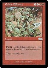 GOBLIN OFFENSIVE Urza's Saga MTG Red Sorcery Unc