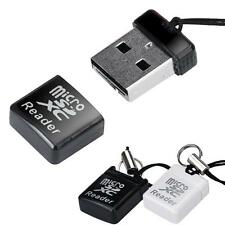 MINI Super Speed USB 2.0 Micro SD/SDXC TF Card Reader Adapter Mac OS Win Pro