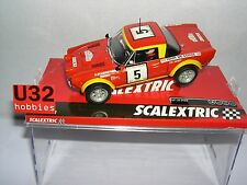 SCALEXTRIC A10220S300 FIAT 124 ABARTH SPYDER #5 T.DE CORSE '74 SCABINI-BACCHELLI