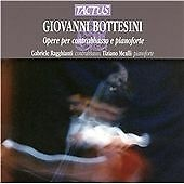 Tiziano Mealli Bottesini:Opere Per Contrabbas CD