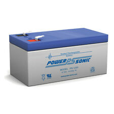 Power-Sonic APC BACK-UPS ES350 One New Battery 12 Volt 3.4Ah Battery