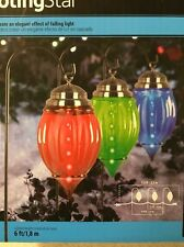 New LightShow Shooting Star Christmas LED Lawn Pathway Hanging Light Multi Color