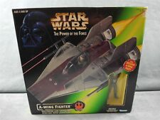 A-Wing Fighter w/Pilot POTF Star Wars Figure/Vehicle Set