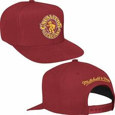 CLEVELAND CAVALIERS MITCHELL AND NESS NBA SOLID OSFA SNAPBACK MAROON HAT NWT