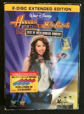 Hannah Montana & Miley Cyrus: Best of Both Worlds Concert (DVD, 2008, 2-Disc Set