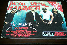 METAL HAMMER MAGAZINE 12/1999 METALLICA THE GATHERING SOUL CAGES URIAH HEEP