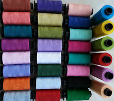 30 Large SEWING 100% PURE COTTON THREAD 30 nice Colours