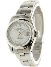Rolex Datejust Ladies Stainless Steel Quick-Set Sapphire 69160 26mm