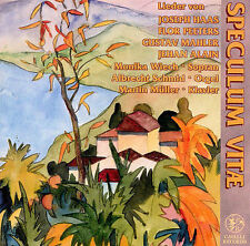 SPECULUM VIT': LIEDER FOR SOPRANO AND ORGAN OR PIANO NEW CD