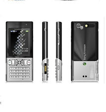 Sony Ericsson T700 - Black on Silver  (Unlocked) 3G Cellular Phone Free Shipping