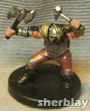 Dungeons & Dragons D&D RPG Mini Figure NO Stat Card ANVIL OF THUNDER 02  / 60
