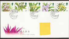 GB fdc Orchids 1993