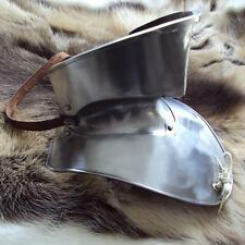 16 Gauge15th Century Bevor With Adjustable Guard. Re-enactment Use, Stage & LARP