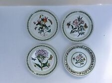 Portmeirion Botanic Garden Salad Plate Assorted Motifs Set of 4