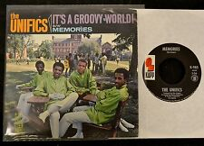 SCARCE PICTURE SLEEVE The Unifics Kapp 985 It's A Groovy World and Memories