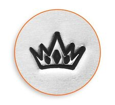 Crown Design Stamp For Making Hand Stamping  Tiara Metal Jewelry Stamp