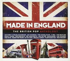 MADE IN ENGLAND - BRITISH POP ANTHOLOGY - JOY DIVISION, BILLY BRAGG,  3 CD NEU