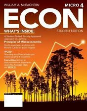 ECON Microeconomics 4 (with CourseMate Printed Access Card) (New, Engaging Title