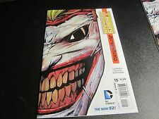 TEEN TITANS #15 NEW 52 AWESOME 1ST PRINT JOKER MASK COVER 1ST PRINT !!!