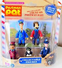 Postman Pat 5 Figure Pack New- Includes PC Selby Jess Postman Pat Ted Glen Ajay