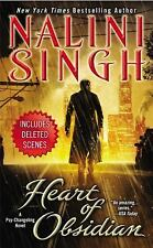 Heart of Obsidian (Psy/Changelings)-Nalini Singh(2013 Hardcover,DJ) 1st Ed -New