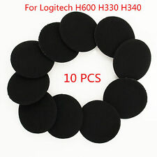 10 Pcs For Logitech H600 H330 H340 Headphone Replacement Ear Pads Cushion Earbud