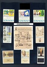 Israel 1988 Complete Year Set of Mint Never Hinged Stamps Full Tabs